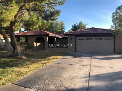 North Las Vegas Single Family Home For Sale: 4215 Rustic Court