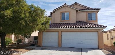 North Las Vegas Single Family Home For Sale: 3434 Dapple Drive