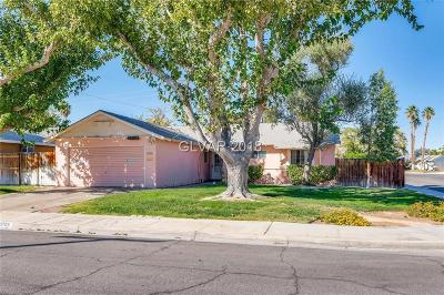 Las Vegas Single Family Home For Sale: 3708 La Pasada Avenue