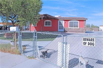 North Las Vegas Single Family Home Under Contract - No Show: 2939 Crawford Street