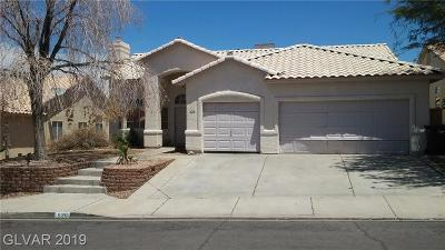 Henderson NV Single Family Home For Sale: $335,000