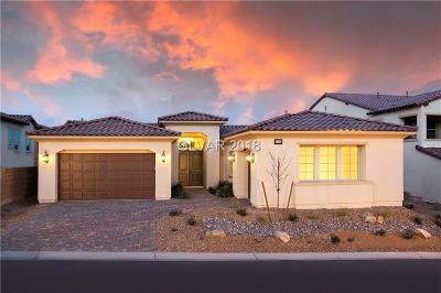 Las Vegas Single Family Home For Sale: 11394 Villa Bellagio Drive