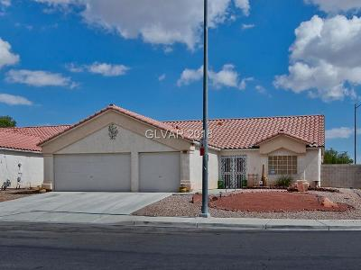 North Las Vegas NV Single Family Home For Sale: $282,000