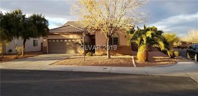Las Vegas Single Family Home For Sale: 5968 Pavilion Lakes Avenue