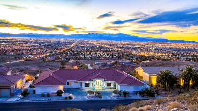 North Las Vegas Single Family Home For Sale: 1740 Hardrock Street