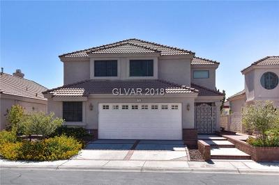 Las Vegas Single Family Home For Sale: 8753 Captains Place