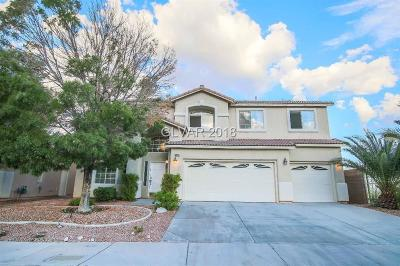 North Las Vegas Single Family Home For Sale: 3920 Kings Hill Road
