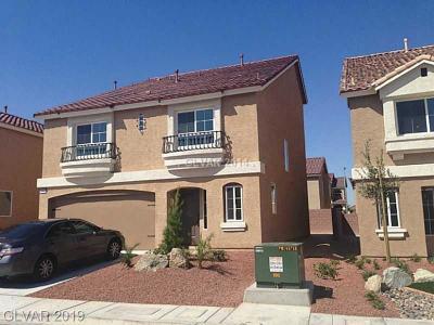 Las Vegas Single Family Home For Sale: 6688 Metronome Court