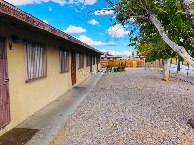 North Las Vegas Multi Family Home Under Contract - No Show: 2522 McCarran Street
