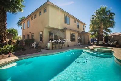Las Vegas, North Las Vegas, Henderson Single Family Home For Sale: 8073 Villa Belen Street