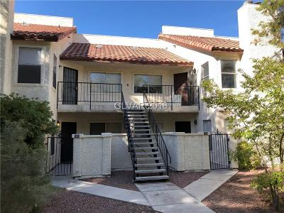 Las Vegas NV Condo/Townhouse For Sale: $135,000