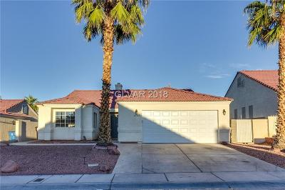 North Las Vegas NV Single Family Home Under Contract - No Show: $242,000