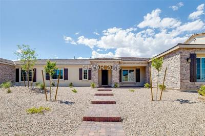 Las Vegas Single Family Home For Sale: 4020 Evening Calm Court