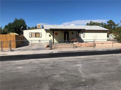 North Las Vegas Single Family Home For Sale: 2541 Herrod Drive