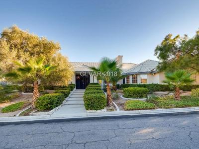 Las Vegas Single Family Home For Sale: 1790 Belcastro Street
