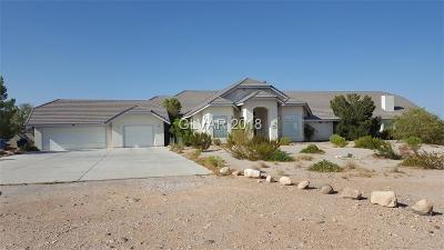 Las Vegas Single Family Home For Sale: 7720 Agate Avenue