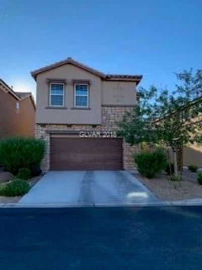 Las Vegas Single Family Home Under Contract - No Show: 8367 Embry Hills Street