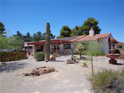 Las Vegas Single Family Home For Sale: 6315 Park Street