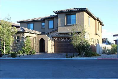 Las Vegas Single Family Home For Sale: 12025 Girasole Avenue