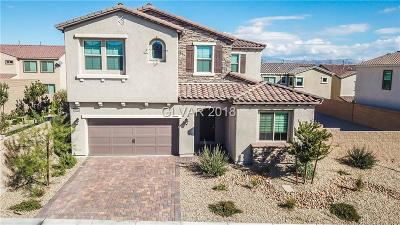 Las Vegas Single Family Home For Sale: 9690 Shadow Cliff Avenue