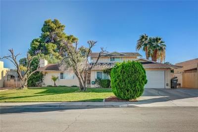 Las Vegas Single Family Home For Sale: 3477 La Paloma Avenue