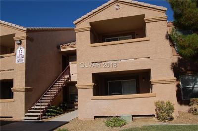 Las Vegas Condo/Townhouse For Sale: 1150 Buffalo Drive #1044