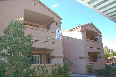 Las Vegas Condo/Townhouse For Sale: 1150 Buffalo Drive #1117