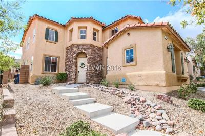 Las Vegas Single Family Home For Sale: 9345 Arrowhead Bluff Avenue