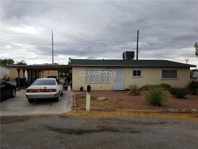 North Las Vegas Single Family Home For Sale: 400 Plymouth Avenue