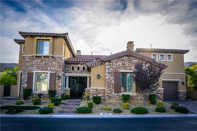 Las Vegas Single Family Home For Sale: 65 Grand Masters Drive