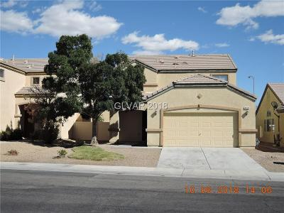 North Las Vegas Single Family Home Under Contract - No Show: 6520 Point Break Street