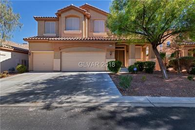 Clark County Single Family Home Sold: 11466 Steponia Bay Street