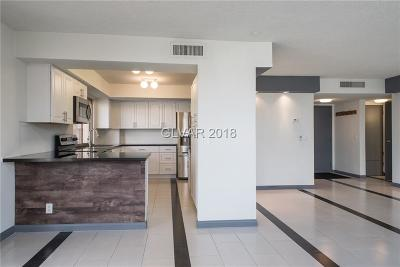 Las Vegas High Rise For Sale: 205 Harmon Avenue #504