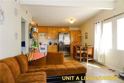 North Las Vegas Multi Family Home For Sale: 2051 Donna Street