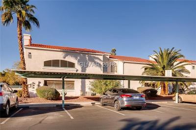 Las Vegas Condo/Townhouse For Sale: 2725 Nellis Boulevard #1035