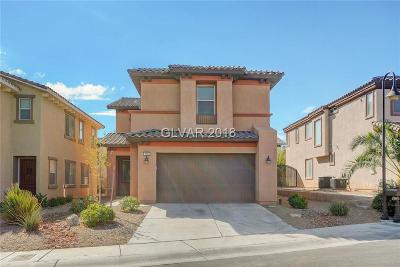 Las Vegas Single Family Home For Sale: 179 Castle Course Avenue