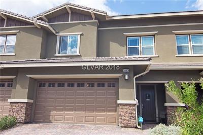 Las Vegas Condo/Townhouse For Sale: 10378 Pescado Lane