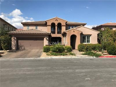 Las Vegas Single Family Home For Sale: 12132 Los Arroyos Court