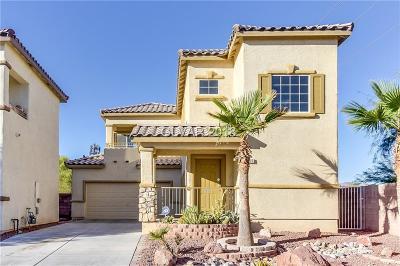 North Las Vegas Single Family Home For Sale: 3656 Carisbrook Drive