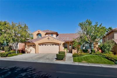 Las Vegas NV Single Family Home For Sale: $610,000