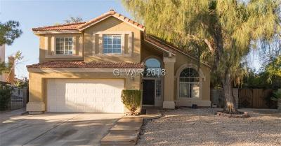 North Las Vegas Single Family Home Under Contract - Show: 1329 Pine Terrace Court