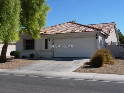 North Las Vegas Single Family Home Under Contract - Show: 5736 Wizard Wand Street