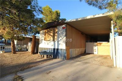 North Las Vegas Manufactured Home For Sale: 2246 Wilkinson Way