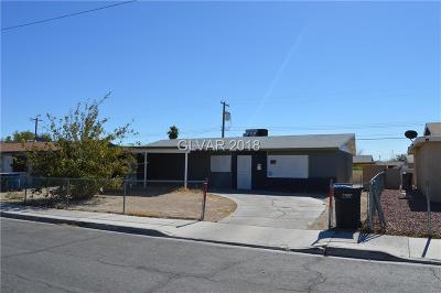 North Las Vegas Single Family Home For Sale: 2013 Lawry Avenue