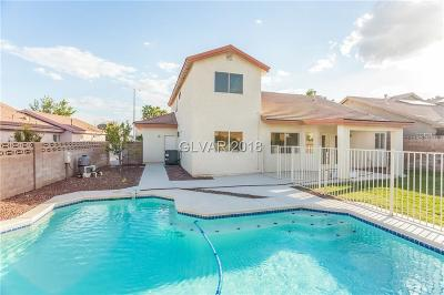 North Las Vegas Single Family Home For Sale: 3116 Asher Lane