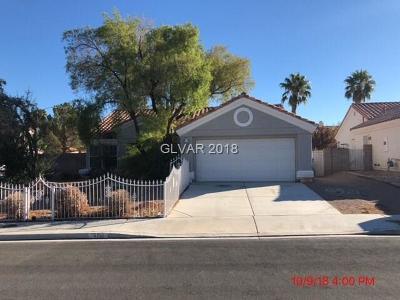 Blue Diamond, Boulder City, Henderson, Las Vegas, North Las Vegas, Pahrump Single Family Home For Sale: 5713 Solimar Lane