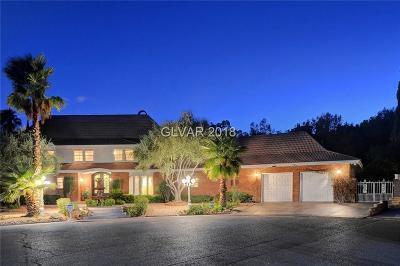 Las Vegas Single Family Home For Sale: 2827 Monte Cristo Way