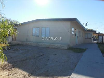 North Las Vegas Multi Family Home For Sale: 2047 Donna Street