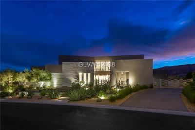 Las Vegas Single Family Home For Sale: 19 Flying Cloud Lane