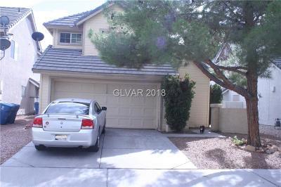 Henderson Single Family Home For Sale: 1714 La Cruz Drive